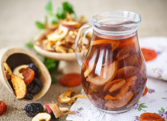 Компот из сухофруктов: как варить витаминный напиток
