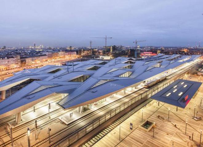 В Вене появился новый главный вокзал