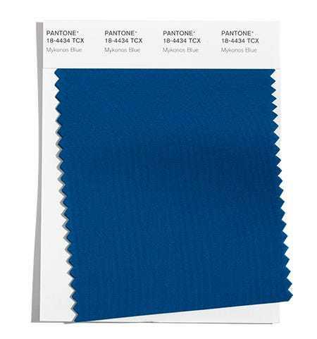 PANTONE 18-4434 Mykonos Blue