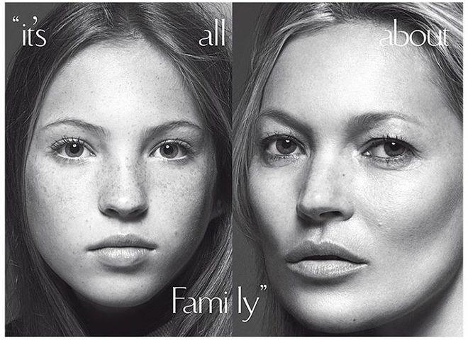 Кейт Мосс з донькою Лілою Грейс Хак
