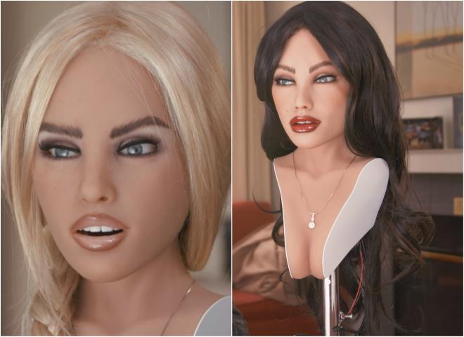 Новые технологии: секс-робот, меняющий внешность