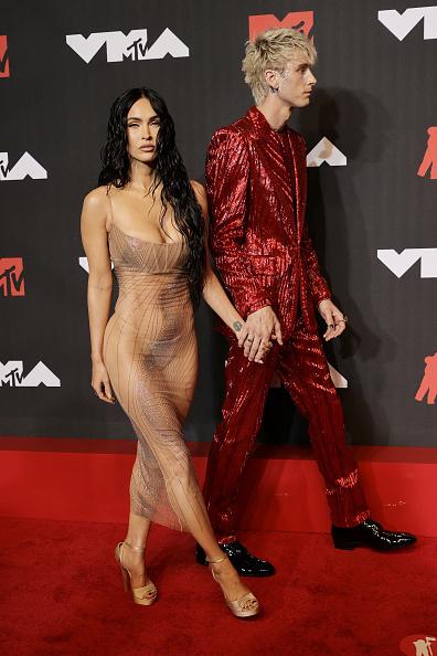 Меган Фокс та Machine Gun Kelly на MTV Video Music Awards 2021