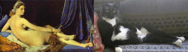 Живопись в кошачьем исполнении