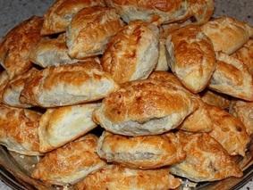Пирожки с печенью и картошкой