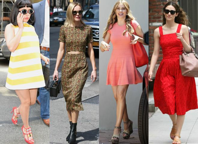 Летние платье: что носят звезды