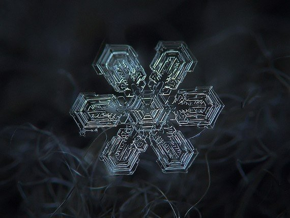 Чарующая красота снежинок