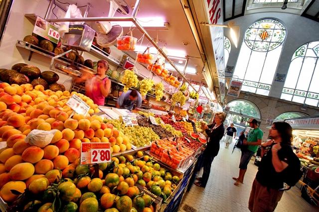 Достопримечательности Валенсии: рынок Mercado Central