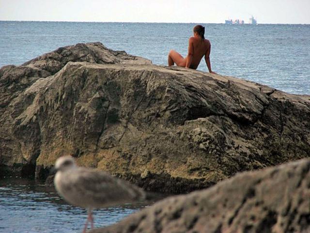 Нудистские пляжи Крыма: Ялта