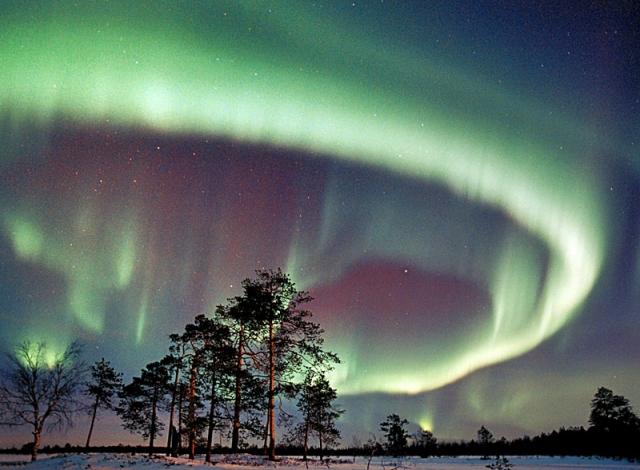 Куда поехать на день Святого Николая: северное сияние в Финляндии