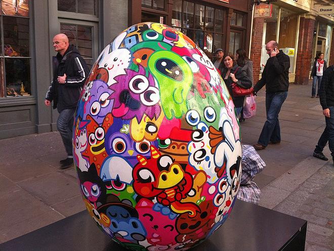 Пошуки великодніх яєць в Лондоні