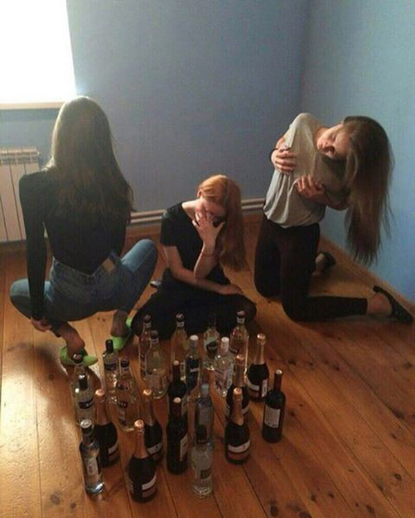 Женские вечеринки - это весело!