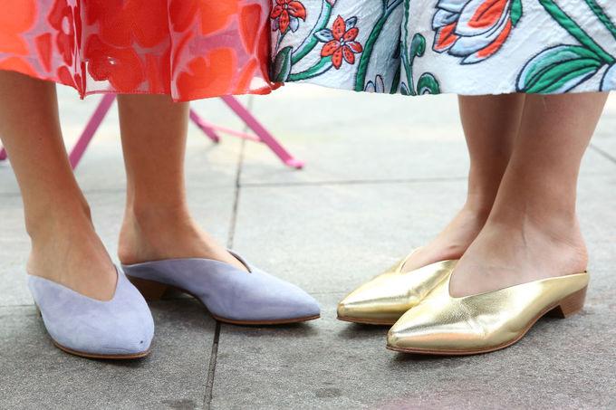 Модне взуття з Тижня моди в Нью-Йорку