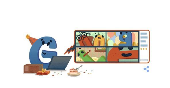 День рождения Google 2020