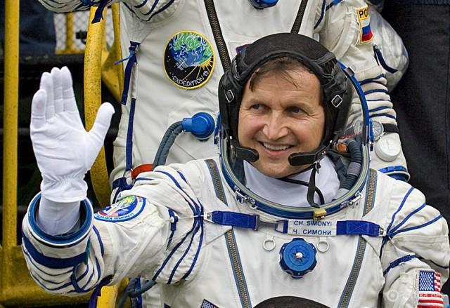Космічні туристи: Чарльз Сімоні