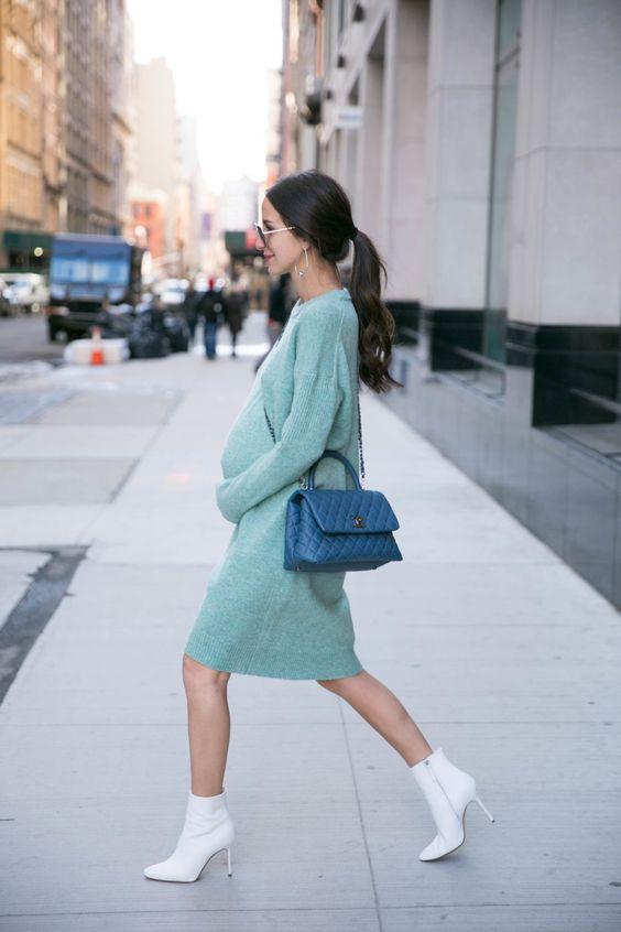 10 вагітних дівчат, які вміють стильно одягатися