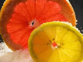 Апельсины и лимоны в сахаре