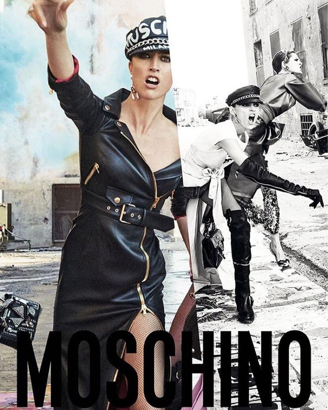 Рекламна кампанія Moschino осінь-зима 2016/2017