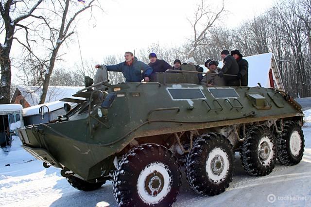 Военный туризм в Украине: компания «Шампань транс»