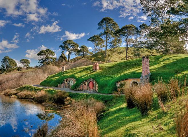 Кинотуризм: Хоббитон, Новая Зеландия