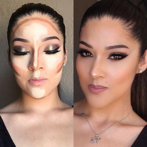 Как правильно нанести косметику на лицо