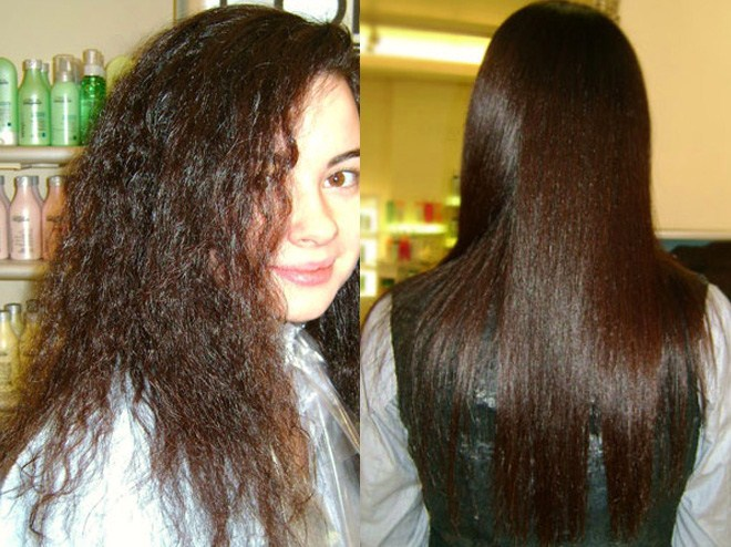 Бразильське випрямлення волосся: оціни результат