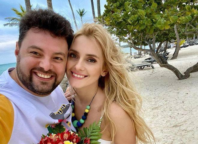Ірина Федишин з чоловіком