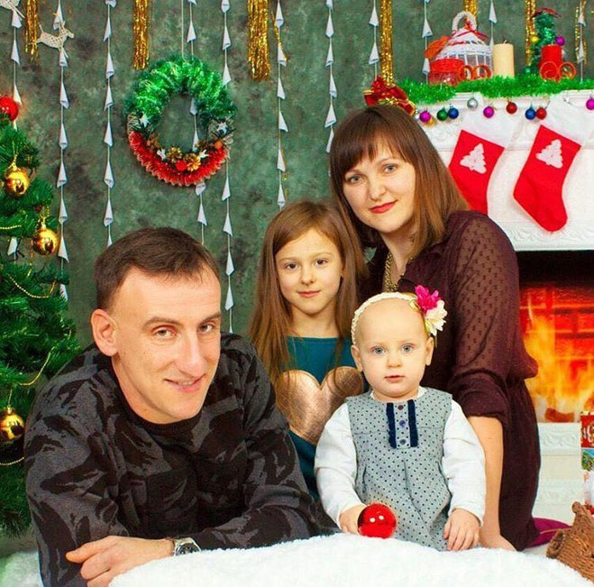 Родина брата Лесі Нікітюк