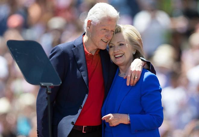 Хиллари Клинтон и Билл Клинтон