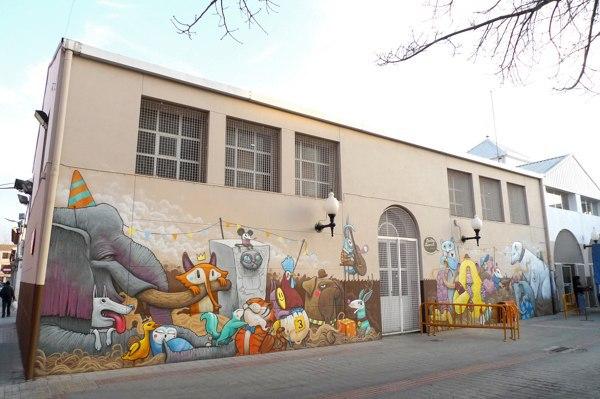Казковий стріт-арт в Іспанії від Dulk