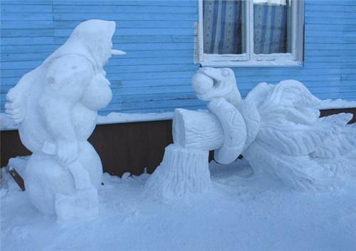 Забавные снеговики