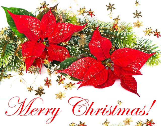 Красивые открытки на Рождество