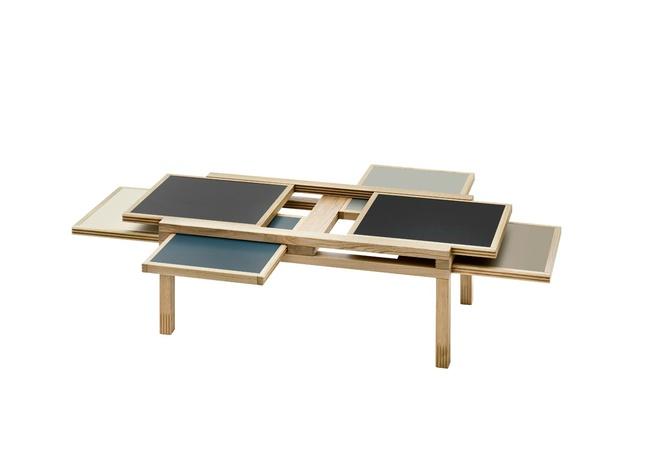 Серия столов Hexa, дизайн – Бернард Вуарнессон (Bernard Vuarnesson)