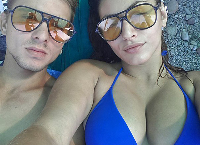Роза аль Намри и Алексей Ткаченко