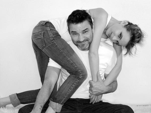Ірена Карпа з чоловіком