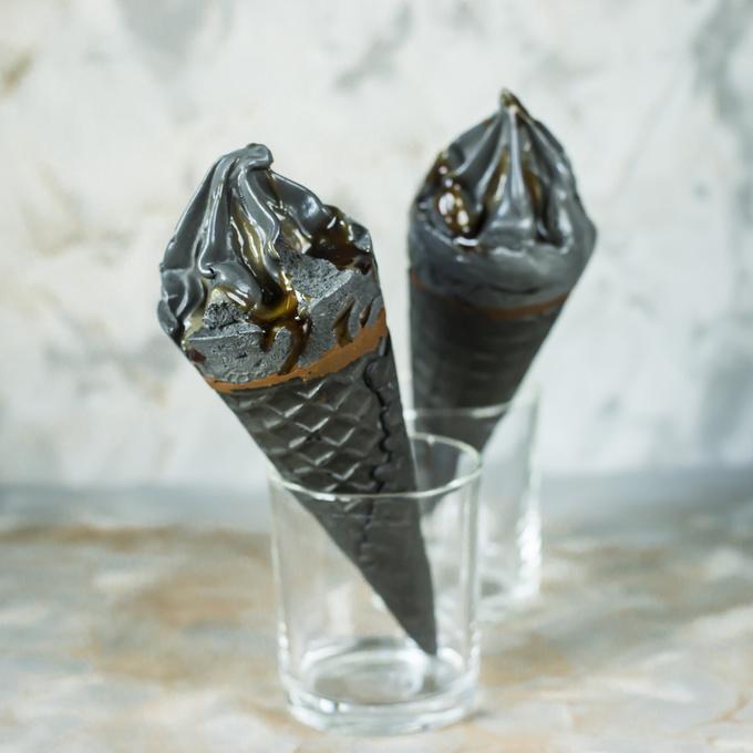 Чорне морозиво: як приготувати?