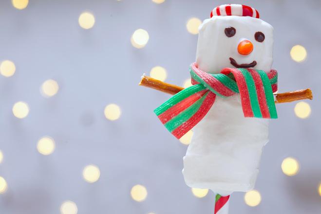 Веселые снеговики на Новый год 2016