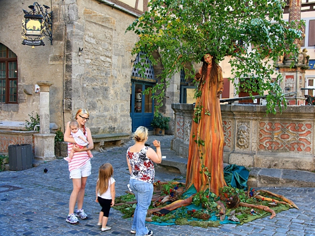 Живі скульптури: Німеччина