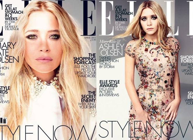 Олсен на обложках Elle UK