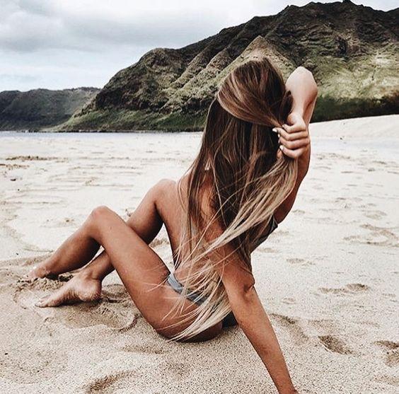 Волосся після відпустки