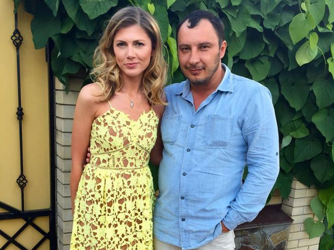 Дмитрий Танкович с супругой Ольгой