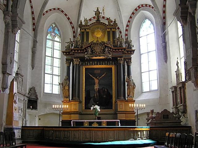Цікаві місця Таллінна: Кафедральний собор Діви Марії