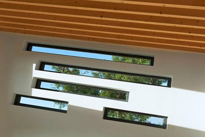 Необычные окна-щели
