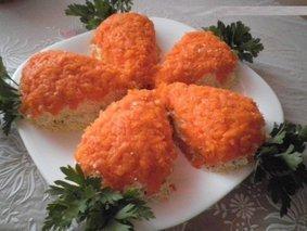 Салат Морковки