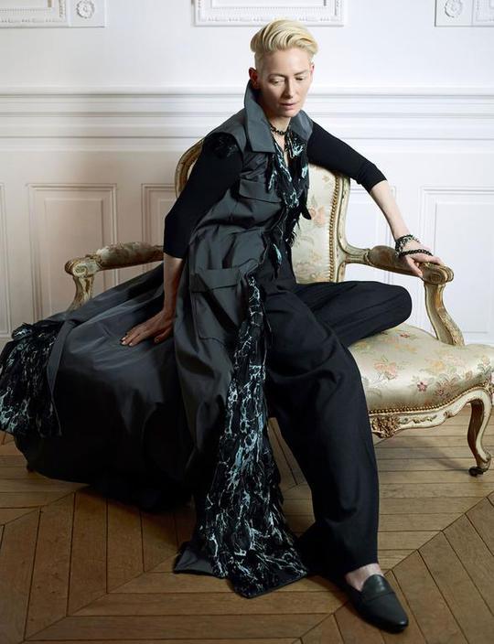 Тільда Суїнтон для Madame Figaro