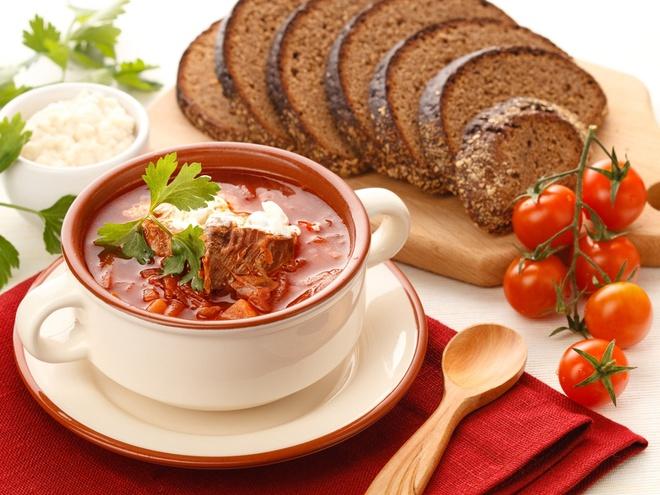 Борщ український рецепт