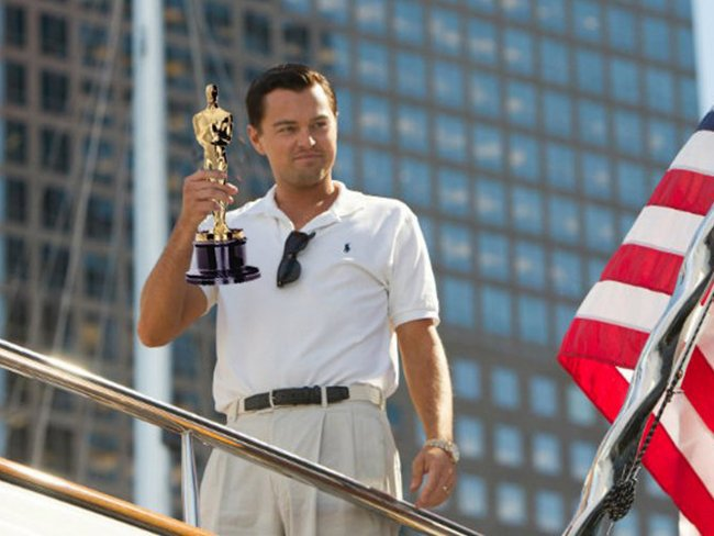 Приколы про Лео Ди Каприо и Оскар