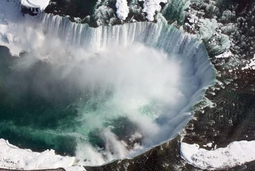 Ниагарский водопад - аэрофотосъемка МЕГА