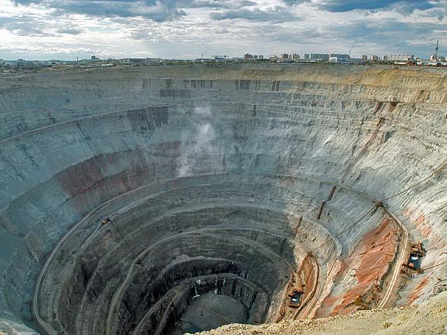 Алмазний кар'єр Росії