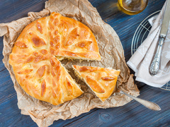 Монастирський пиріг з капустою