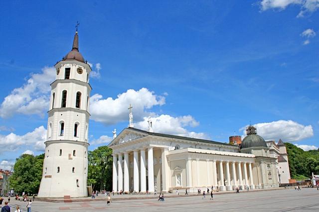 Цікаві місця Вільнюса: Кафедральний Собор